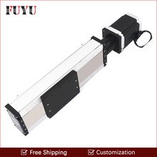 Free shipping ontime delivery 100mm-1500mm stroke ball screw linear module slide router system for sliding system(China)