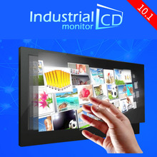 New arrived Industrial 10.1 inch IPS DVI resistive touch screen monitor 10.1 inch four wire resistive touch screen LCD monitor