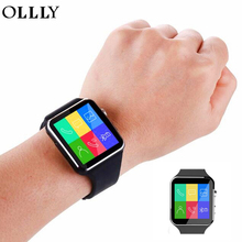 OLLLY X6 Bluetooth Smart Watch 16GB Support Micro SIM Card Camera Video for Android Samsung HTC Sony Huawei LG Smartphone(China)
