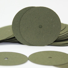 100 PCS Green Resin Sand Piece Seperating Discs Dental Grinding Polishing Discs Dentist Product Global Free Shipping(China)