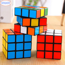 1Pcs Classic Toys Cube 3x3x3 ABS Sticker Block Puzzle Speed Magic Cube Colorful Learning&Educational Puzzle Cubo Magico Toys