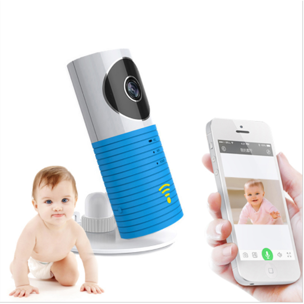 (1 pcs) Wireless Baby Monitor 720P WIFI IP camera Intelligent Night version Intercom system APP Control 180 degree Surveillance<br>