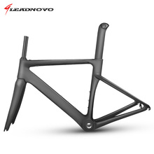 Buy LEADNOVO MTB New carbon fiber road frame Mechanical bicycle frame bike carbon road frame+fork+seatpost+headset carbon road bike for $536.02 in AliExpress store