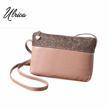 Casual Vintage Small Women Crossbody Bags Girl Leather Messenger Bag Retro Envelope Bag Handbag Purse Sling Shoulder Bag Thin