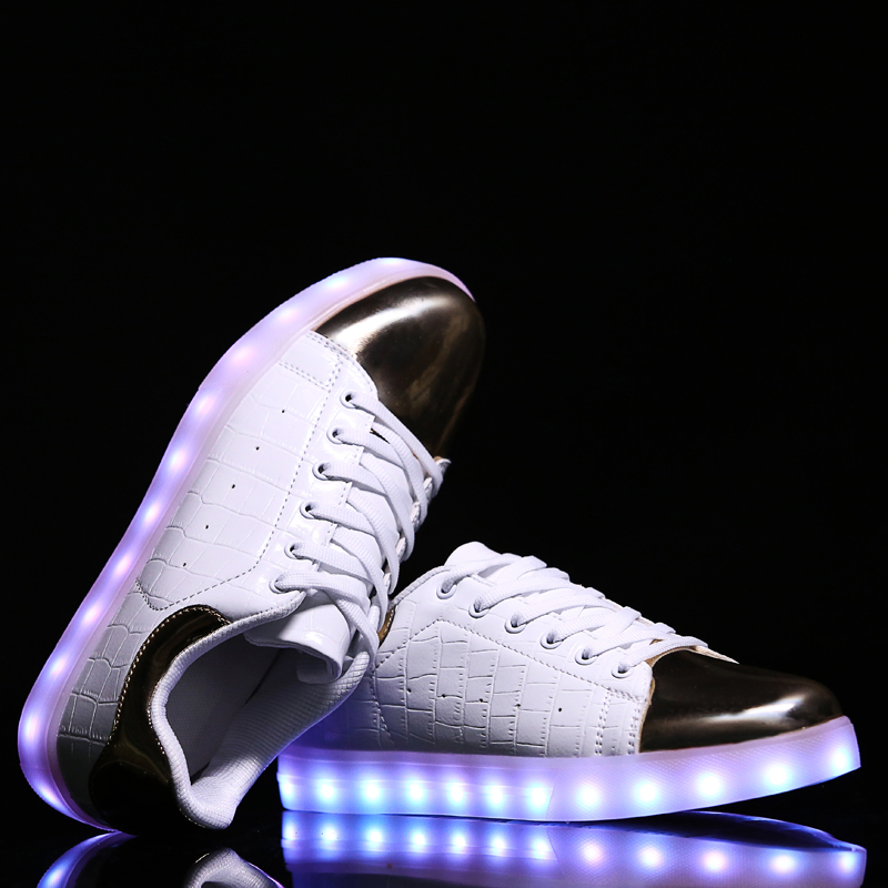 Light Shoes Led 2017 New Style Fashion Luminous For Adults Breathable Glowing Usb Dance Casual Quality Cheap Zapatillas De Luces<br><br>Aliexpress
