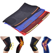 1Pcs 3 Sizes 3 Colors Elasticity Sports Safety Knee Pads Knee Support Knee Guard Autumn and Winter Keep Warm Relieve Joint Pain(China)