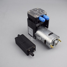 12V DC Mini high vacuum pump -85KPA oil free hig flow 60LPM air inflating pump portable high pressure air compressor 6.5Bar