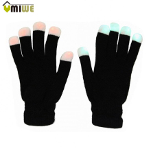 Creative LED Lightning Party Gloves Glow Light Flashing Adult Full Finger Gloves Rave Mittens Magic Cotton Luminous Gloves