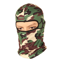 Bicycle Face Mask Windproof Camouflage Headwear Full Face Mask Outdoor Sports Face Hood for Outdoor Cycling Hunting(China)