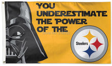 Pittsburgh Steelers Star Wars Flag 3x5 FT 150X90CM NFL Banner 100D Polyester Custom flag grommets 6038,free shipping(China)