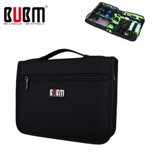 BUBM Hot Portable Organizer System Kit Case Storage Bag Digital Gadget Devices USB Cable Earphone Pen Travel Insert Organizador