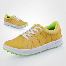 New Design Waterproof Golf Shoes Lightweight Sneakers Ladies Golf Shoes Breathable Golf Shoes for Outdoor Sports