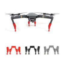 DJI Mavic Pro Upgraded Shockproof Anti-damping Landing Gear Leg Extensions - Red Black Grey(China)