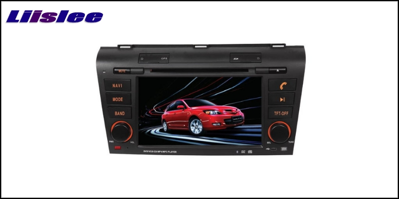 For Mazda 3 2003~2009 LiisLee Car Multimedia TV DVD GPS Audio Hi-Fi Radio Stereo Original Style Navigation NAV NAVI MAP 2