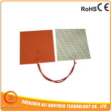 12V 280W 250*250MM Silicone Heating Pad For 3D Printer Hot Bed(China)