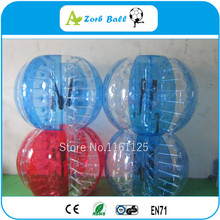 1.0m TPU Inflatable Bubble Football Soccer Zorb Ball For Kids, Inflatable Human Hamster Ball Bumper ball Outdoor Fun Sports