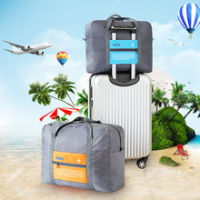 Travel Aircraft Luggage Organizer Storage Bags Large Capacity Waterproof Multi-Functional Folding Bag Case for Business Trip(China)