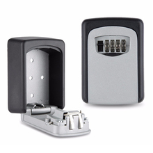Vault Combination 4 Pin Lock Wall Mounted for Maximum Security Master Heavy Duty Slimline Keys Storage System(China)