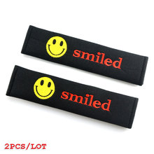 Car-styling Seat belts cover all cotton case For Audi A3 A4 A5 A6 Q3 Q5 Q7 Auto Decal Accessories Car Styling