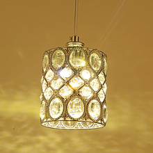 Modern Minimalist K9 Crystal Pendant Lights Kitchen Dining Living Room Shop Decoration suspension luminaire Pendant Lamp Fixture