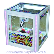 Bubble House Mini Square Arcade Game Machine Cranes Claw Machine For Shopping Mall(China)