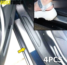 Accessories FIT FOR Chrome CITROEN C5 Stainless Door Scuff Sill Plates Entry Panel Cover Trim Molding Overlay 2008-2015 2014