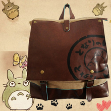 Free Shipping Anime My Neighbor Totoro Backpack High Quality Durable Canvas Shoulders Bag Students Travel Bags