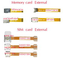 New Item 10 Kinds Hybrid Double 2 Dual Nano SIM Card Adapter Converter micro memory sd card Extender for XIAOMI REDMI NOTE MAX