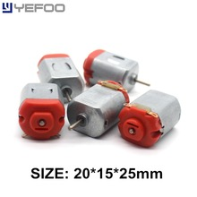 2PCS/5PCS/10PCS 130 micro motor 3v 16500 RPM Micro Toy mini motor small DC motor science experiments four-wheel
