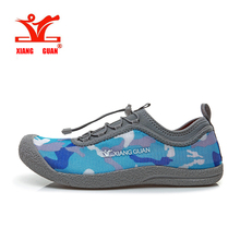 Xiangguan 2016 Summer Lovers Running Shoes Camouflage Women Breathable Walking Shoes Men Lazy Shoe Cheap Online Sale EUR 36-44(China)