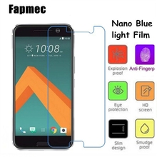 Fapmce Nano Eye-Protective Blue Light Resistant  Soft Glass Screen Protector Film for HTC 10 HTC One M10 HTC One 2 Perfume