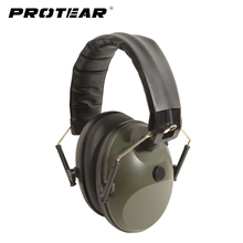 Prptear Single Microphone Electronic Hunting Earmuff Shooting Range ArmyGreen Hunting Range Gear Hearing Protection NRR 22dB(China)