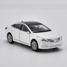 High Simulation Welly New 1:36 hyundai sonata alloy car model toy with pull back  for baby toys gifts Free Shipping