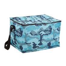 20L Extra Large Camouflage Cooler Bags Thermal Insulated Picnic Bag Box Travel Picnic Food Storage Accessories Supplies Products(China)