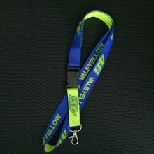 10pcs VR46 Rossi keychain for Valentino Rossi fans'souvenir M1 worker card lanyard ring VR46/Lorenso 99/Kawasaki team fans gift