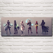 Dishonored Assassin's Creed Mass Effect Video Game Art Silk Poster Home Wall Decor Painting 12x33 16x44 Inches Free Shipping