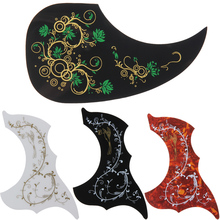 "Hot sale Acoustic Guitar Pickguard Pick Guard Dickquard Self-adhesive Celluloid Scratch Plate Fit For 41"" 40"" 39"" 38"" guitar"