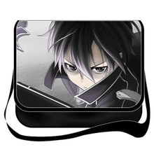 Hot sales Japanese Anime Sword Art Online Cosplay PU Shoulder /messenger bag /Student Bags