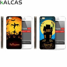 KALCAS Lovely Cartoon Cute Silicon Pumpkin Socks TPU Joyful Phone Case for iPhone 7 7plus 6 6s 5 5s SE 4 4s High Quality Cases(China)