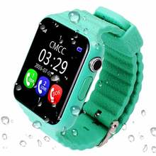 HESTIA Children GPS Tracker Smart Watch V7K With Camera Facebook Kids SOS Emergency Security Anti Lost For Android Watch PK Q60