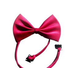AIMA Dog/Cat Adjustable Bow Tie Dog Cat Bow Neck Tie Accessory Collar Puppy Bright Colour Pet