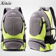 2017 hot sale Unisex Backpack Bags Men And Women Travel On Foot Shoulders Mountaineering Bag Rucksack mochila feminina wholesale(China)