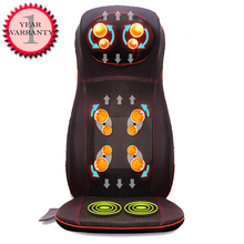 Heated Car Home Office massage chair  Vibrated Neck back body care massage Cushion car massage seat cushion Prostate Massager