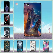 Case For Xiaomi Redmi 4A Protection Cases Cover Back Soft TPU Shell Fit For Xiaomi Redmi 4A Cute Landscape Design Cover Luxury