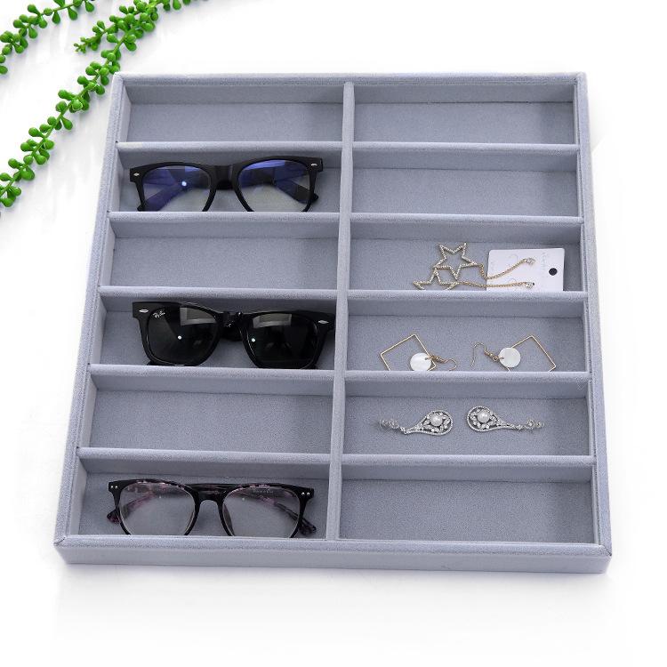 marr/ón CHICIRIS Organizador de Gafas de Sol de Viaje Colector de Gafas Estuche de Almacenamiento Caja de Soporte Pantalla Caja de Gafas de Sol Organizador de Gafas de Sol