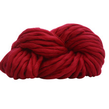 Wool Yarn Super Soft Bulky Arm Knitting Wool Roving Crocheting DIY U71221(China)