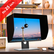 iLooker 25P 25 inch & 24 inch Thick Frame LCD LED Video Monitor Hood Sunshade Sunhood for Dell HP Viewsonic Philips Samsung LG(China)