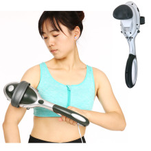 Electric Precussion Massager Handheld Massager Therapy Device for Muscle Neck Back Shoulder Pain Relief Body Health Care Massge(China)