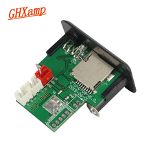 Buy GHXAMP Mini 5V Amplifier Audio Board 3W+3W Stereo MP3 Decoder TF Card U Disk Playback for $5.58 in AliExpress store