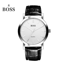 BOSS Germany watch men luxury brand ultra-thin Japan MIYOTA quartz couple lover watch belt female white relogio feminino